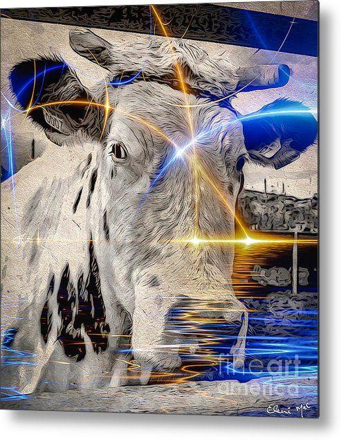 Sacred Cow Metal Print By Eleni Mac Synodinos