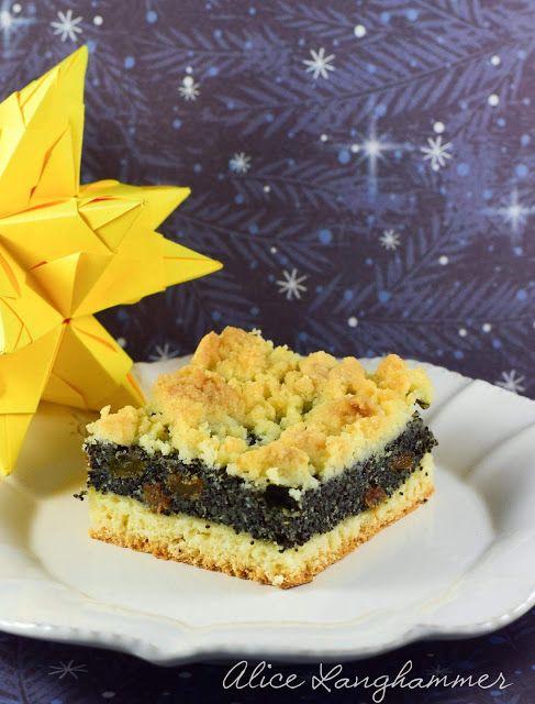 Alice im kulinarischen Wunderland: Schlesischer Mohnkuchen