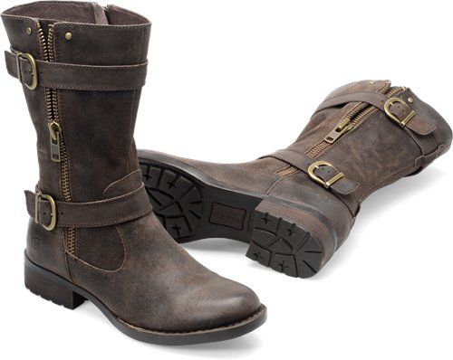 Born Erie in Marmotta Distressed - Born Womens Boots on Bornshoes.com
