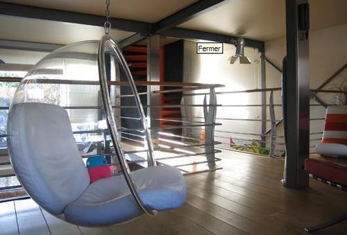 fauteuil bulle aarnio minimaliste design pop pinterest bulles et fauteuils. Black Bedroom Furniture Sets. Home Design Ideas