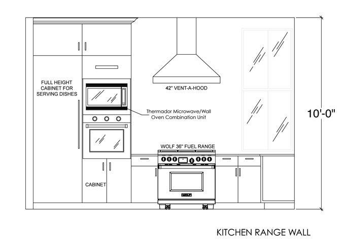 Best Kitchen Range Wall Elevation Building Foundation 640 x 480