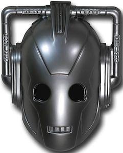 Doctor Who - Cyberman Mask (Doctor Who - BBC Series) source: superherostuff.com