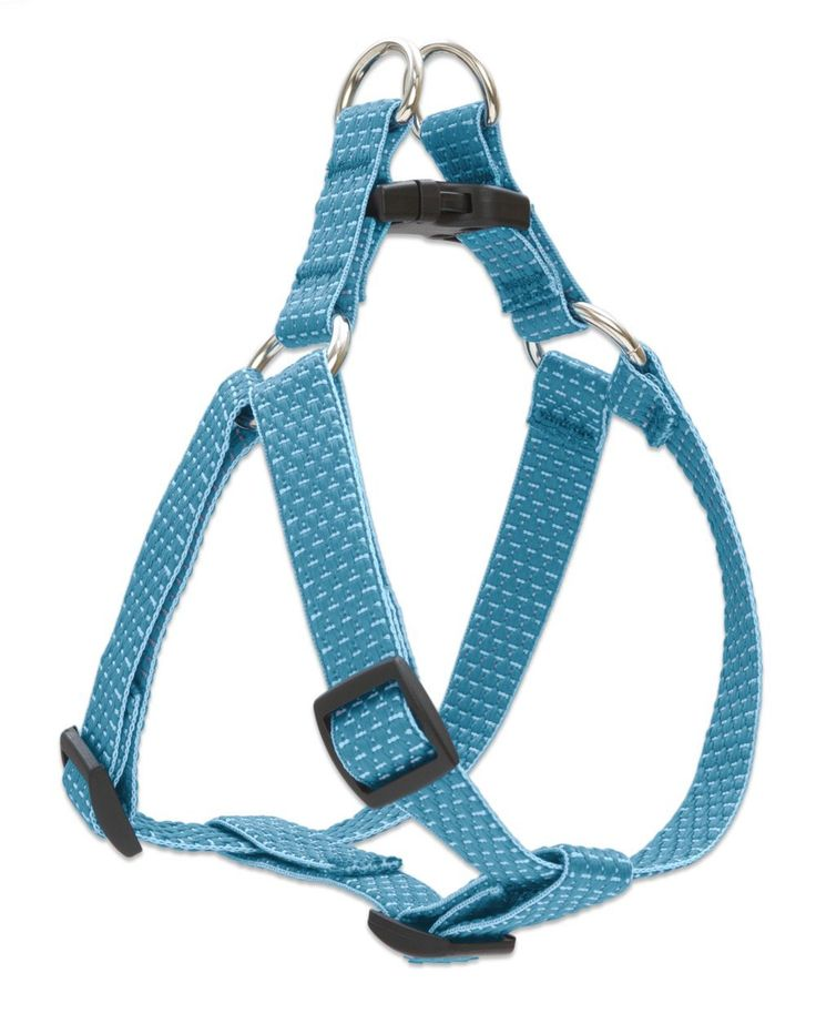 Eco by Lupine 3/4-Inch Recycled Fiber Step-In Dog Harness, Tropical Sea >>> Read more at the image link.