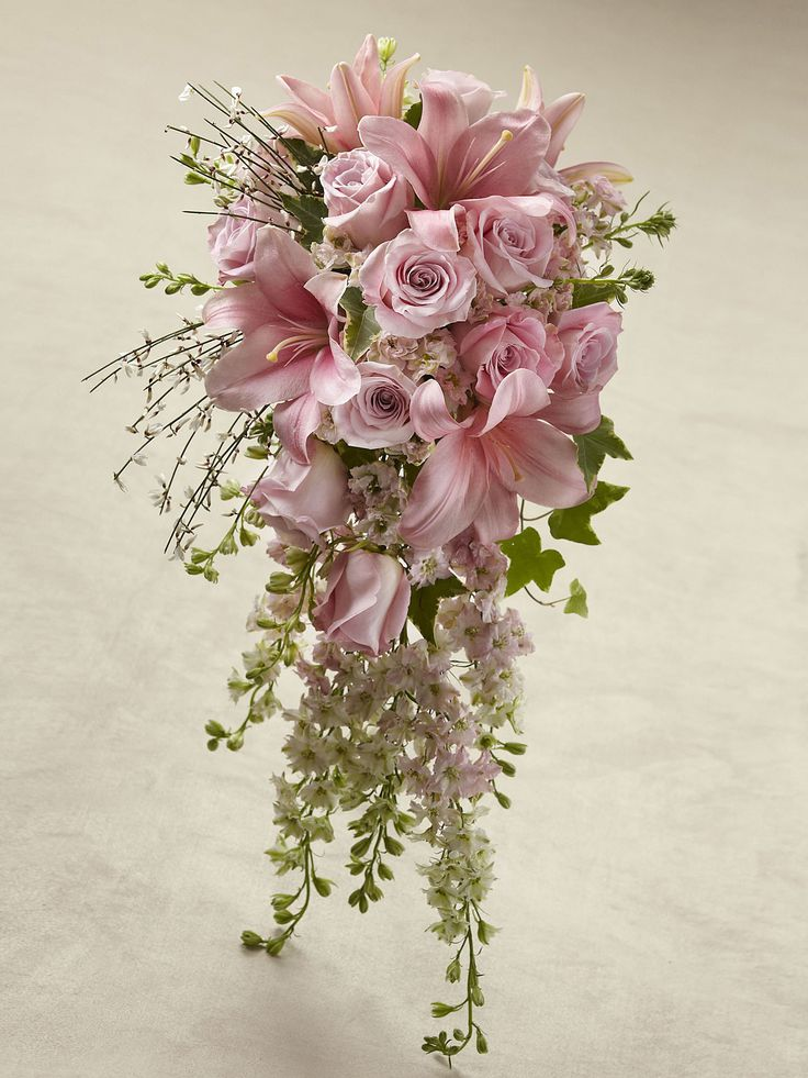 PETALS N BUDS (T.J.Quinn) - Pink Effervescence Bouquet - Interflora