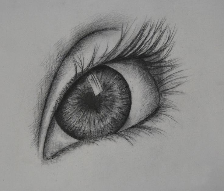 Eye Painting, Ritz Li, Year 12