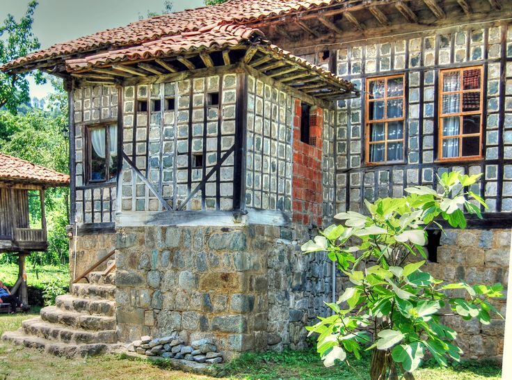Traditional house in the North-east Black sea region of Turkey