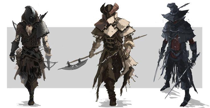 Highwayman Character Concept by chanmeleon.deviantart.com on @DeviantArt