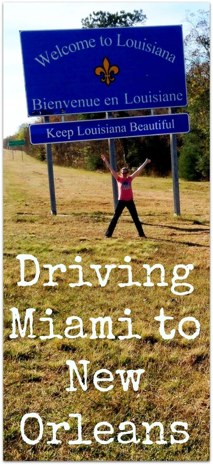 Driving Miami to New Orleans - the best places to stop and things to do on a US Road Trip http://www.wheressharon.com/family-trip-usa-caribbean/road-trip-usa/driving-miami-new-orleans/