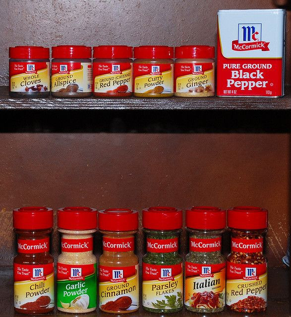 Many of McCormick's products are already non-GMO.