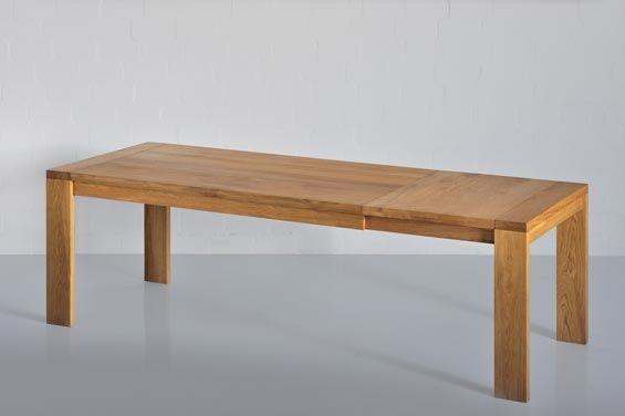 Tavolo allungabile 200/260 - AGATARI Laboratorio d'interni - Lampade in legno marino, mobile e complementi d'arredo in teak e quercia. A milano, Viale Premuda 38/a