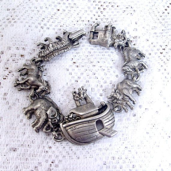 Vintage signed AJC American Jewelry Company pewter by jewelry715, $10.00