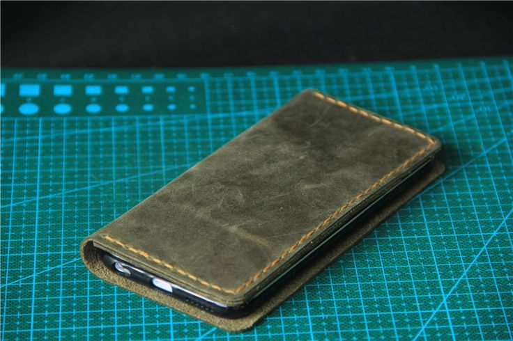 leather iPhone 6 wallet case Olive green iPhone 5s wallet case iPhone 6s case iPhone 6 plus wallet case iPhone 4s case iPhone 6s plus case by CollLeatherShop on Etsy https://www.etsy.com/listing/251022034/leather-iphone-6-wallet-case-olive-green