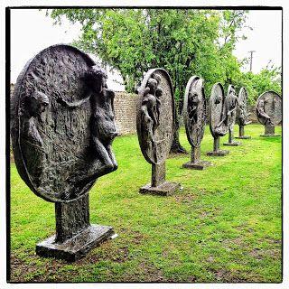 Marc PETIT le sculpteur à la Galerie d'Art le Clos des Cimaises