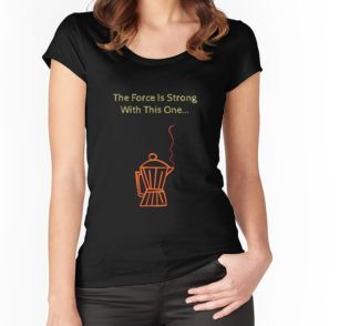 """""""The Force Is Strong..Coffee!"""" T-Shirts & Hoodies by ianlaverart 