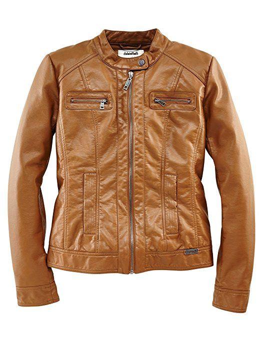 "ROADSIGN australia Biker Jacket ""MC Lady"" cognac S"