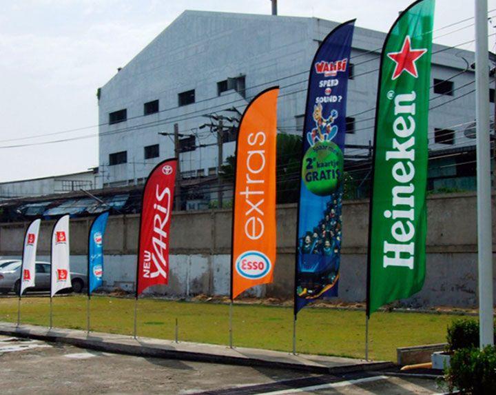 Fly banners y banderas publicitarias