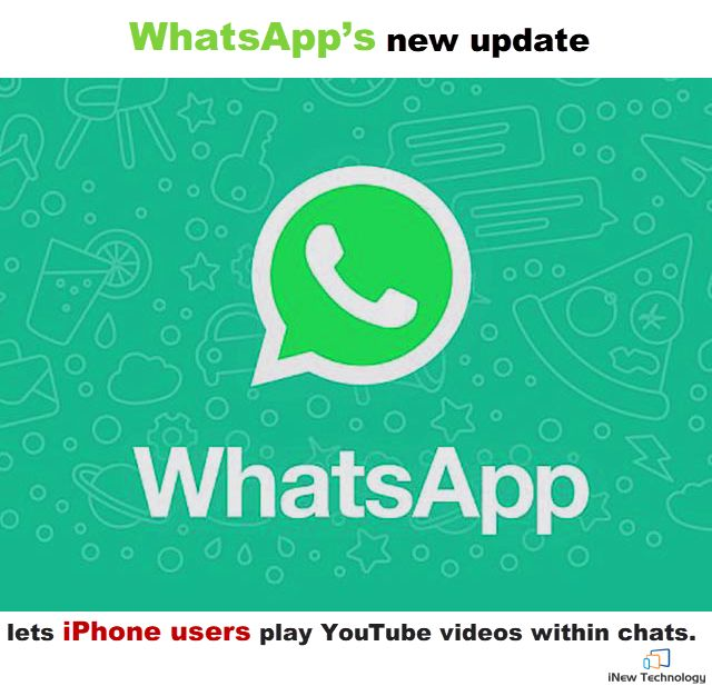 Another Amazing WhatsApp Update for iOS users. #Whatsapp #Youtube