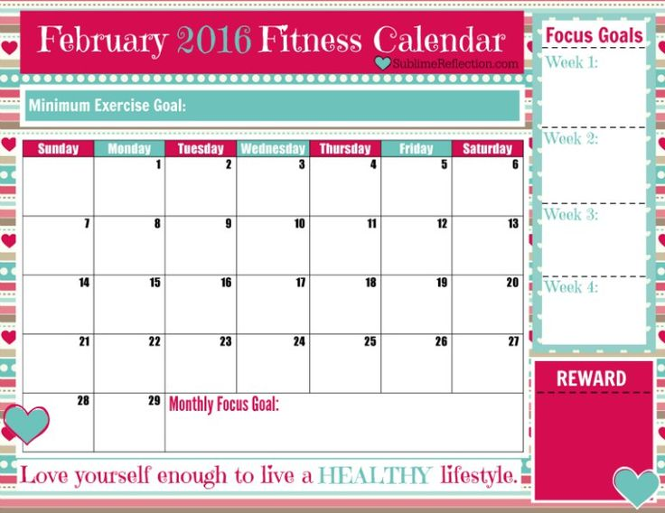 Best  Fitness Calendar Ideas On   Workout Calendar