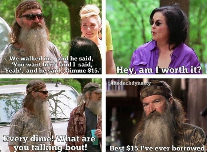 Duck dynasty.. awhh sweetest thing eva