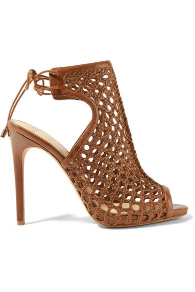 ALEXANDRE BIRMAN Woven leather sandals. #alexandrebirman #shoes #sandals