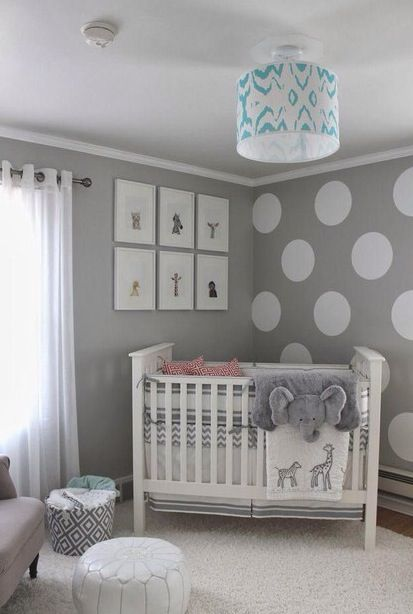 Quarto bebe cinza   The best baby room home design ideas! See more inspiring images on our boards at: http://www.pinterest.com/homedsgnideas/baby-room-home-design-ideas/