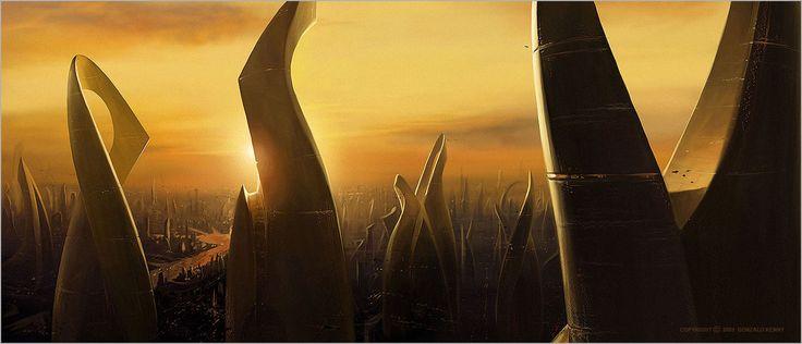 Future city - Concept Art