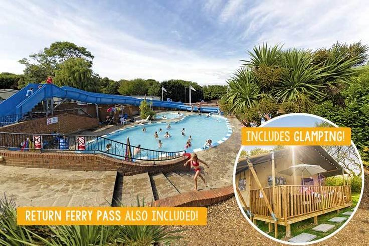 Discount 3-4nt Isle of Wight Parkdean Resorts Stay with Ferry for 6 - 4 Locations! for just £139.00 Enjoy a self-catering break on the Isle of Wight for up to six.  Stay at Landguard, Lower Hyde, Nodes Point or Thorness Bay Holiday Park.  Sleep in two-bedroom accommodation or a glamping safari tent.  Includes return car ferry from Portsmouth or Lymington.  Enjoy swimming pools, sports and...
