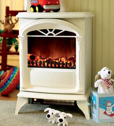 Cute Electric Stove from Plow & Hearth $99 with $50 gift card rebate (through 10/12/12). Can't wait 'til mine arrives!