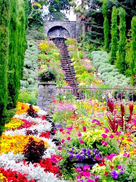 Mainau Island on Lake Constance, Baden-Wurttemberg, Germany. It is a garden lover's paradise!