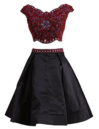 7c8271ee3fa LovingDress Women s Homecoming Dresses Satin Beaded Bodice Short Prom  Dresses at Amazon Women s Clothing store