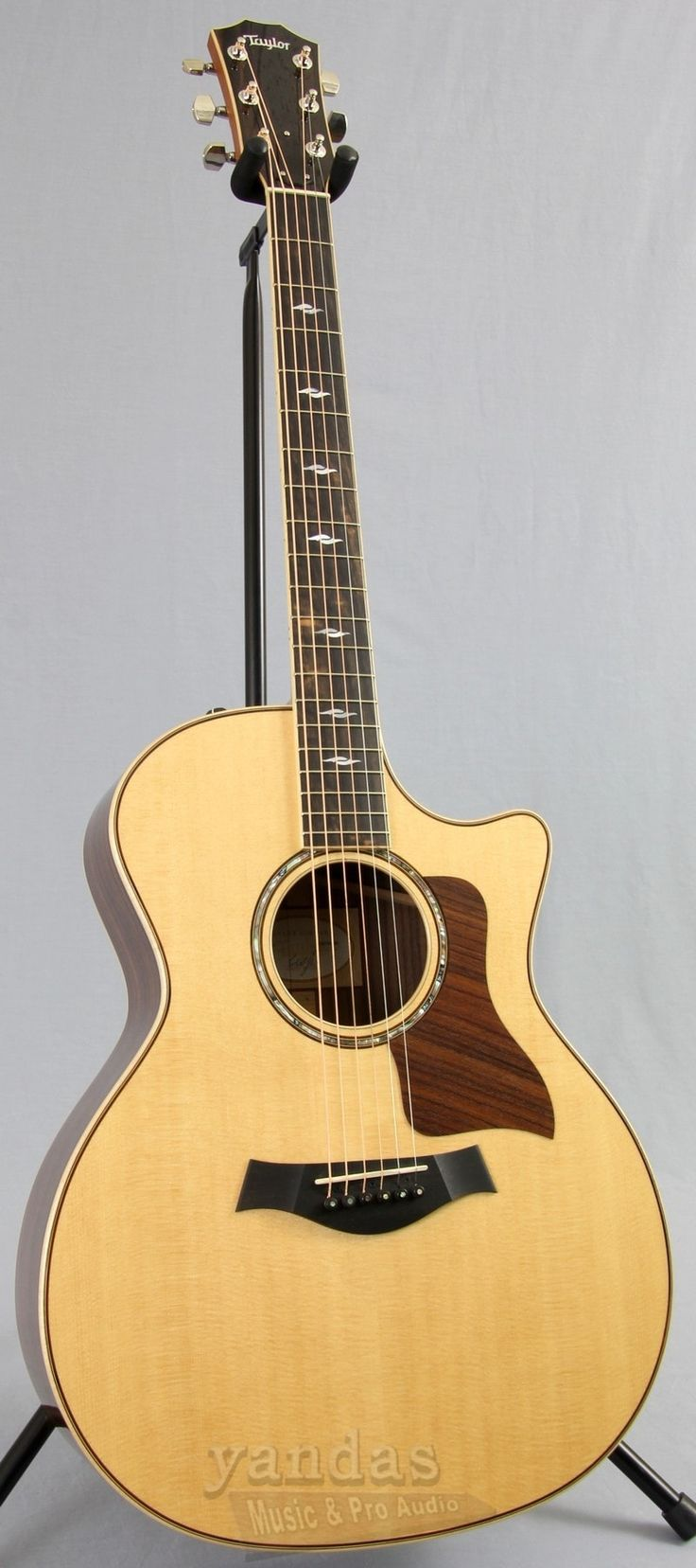 Clearance | Taylor 814ce Grand Auditorium Cutaway Acoustic Electric Guitar
