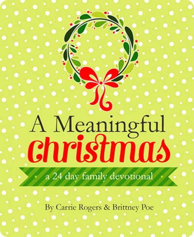 """""""A Meaningful Christmas: a 24 day family devotional.Meaningful Christmas, Favorite Christmas, Christmas Handmade, Christmas Devotions, Families Christmas, Ornaments Exchange, Mean Christmas, Families Devotions, Christmas Mornings"""