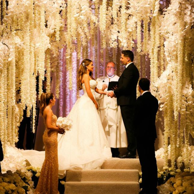 Sofia Vergara's Fairytale Wedding Will Take Over Your Pinterest Boards via Brit + Co