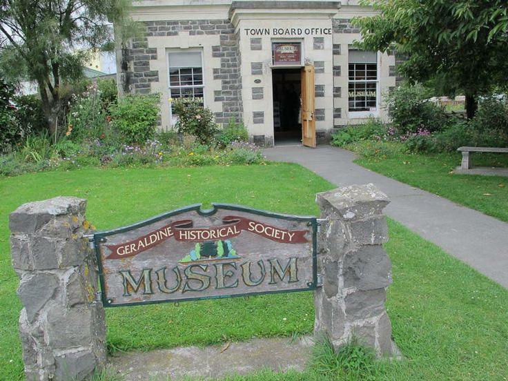 Geraldine Museum - 4 hours from Queenstown