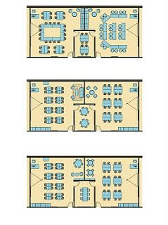 High School Classroom Layout Options