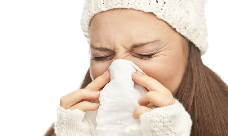 Common cold can be caused by more than 200 different viruses and is highly contagious. Symptoms of a cold are sneezing, blocked or runny nose, reduced sense of taste and smell, a sore throat, a dry cough, headache, and mild fever.