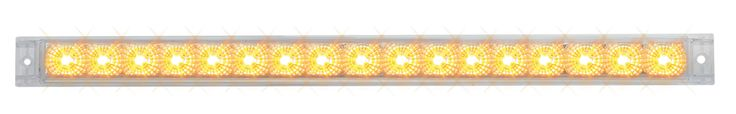 "20"" Spyder Led Light Bar, Amber/Clear"