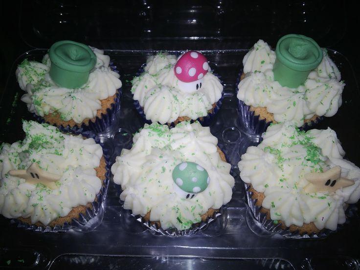 Cupcakes de Super Mario Bros