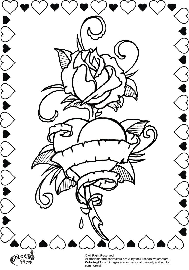 Advanced Valentine Coloring Pages : Best images about hearts to color on pinterest