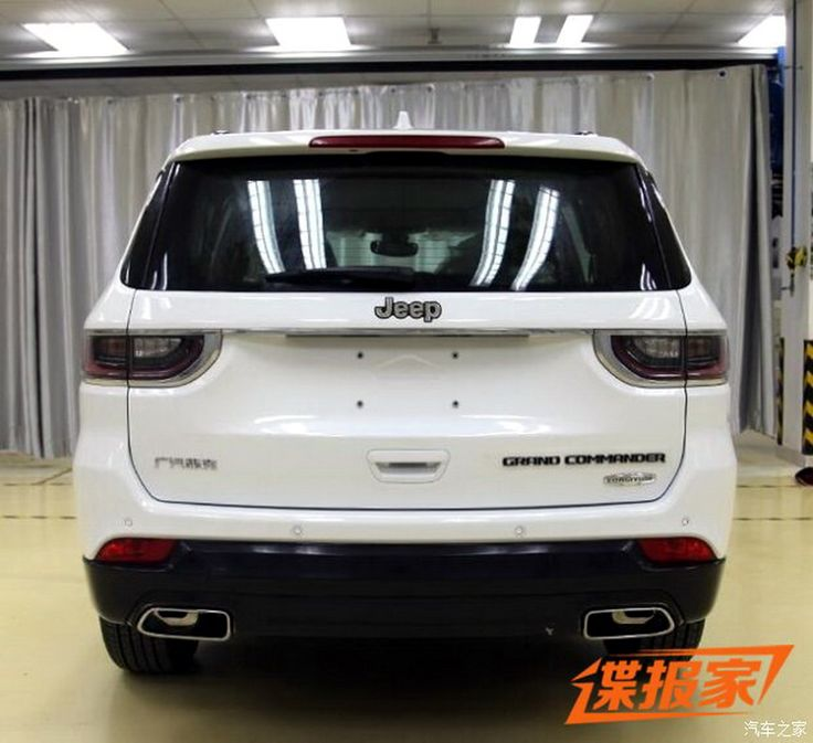 Meet the 2018 Jeep Grand Commander, a China-only 7-seater SUV that's rumored…