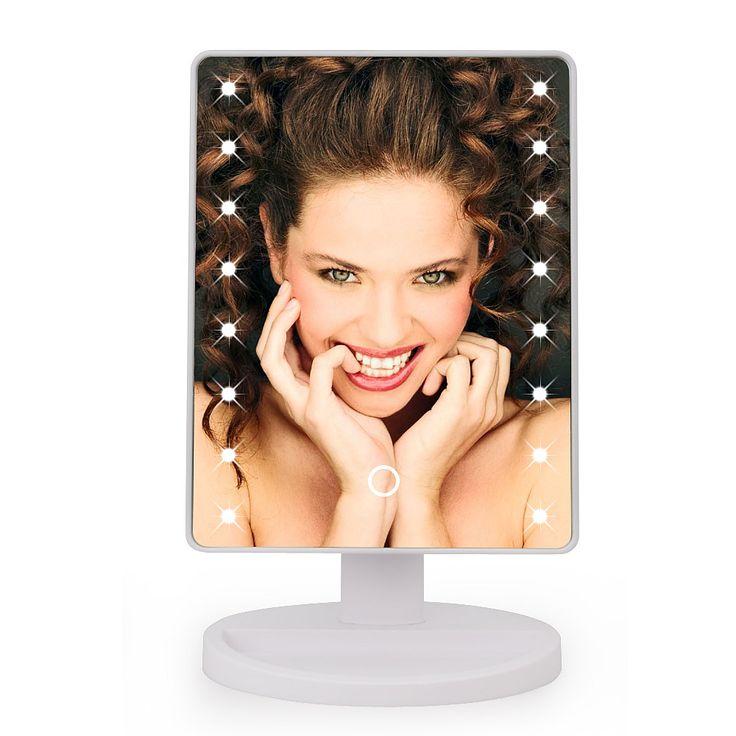 Barato Ajustável Lâmpada de Mesa 16/22 LEDs Iluminado LEVOU Tela de Toque Luminosa 180 Rotativa Espelho de Maquiagem Espelho de Maquiagem Espelho Portátil, Compro Qualidade Espelhos de maquiagem diretamente de fornecedores da China: Ajustável Lâmpada de Mesa 16/22 LEDs Iluminado LEVOU Tela de Toque Luminosa 180 Rotativa Espelho de Maquiagem Espelho de Maquiagem Espelho Portátil