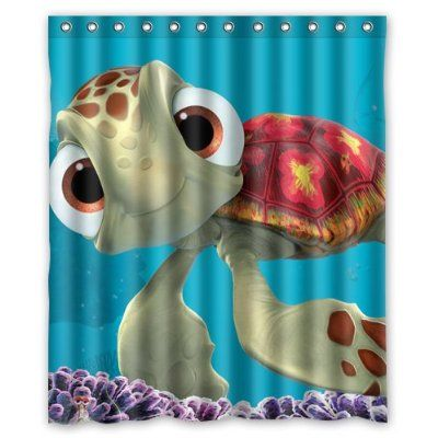 Finding Nemo Custom Waterproof Shower Curtain 60x72 Inch Bath Curtains Part 43