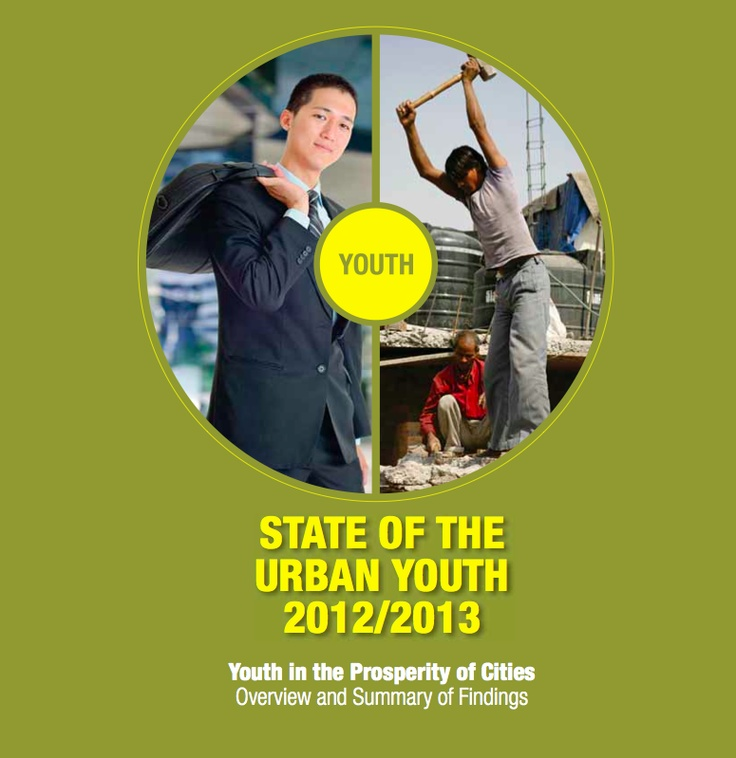 State of the Urban Youth 2012/2013 by UNHABITAT