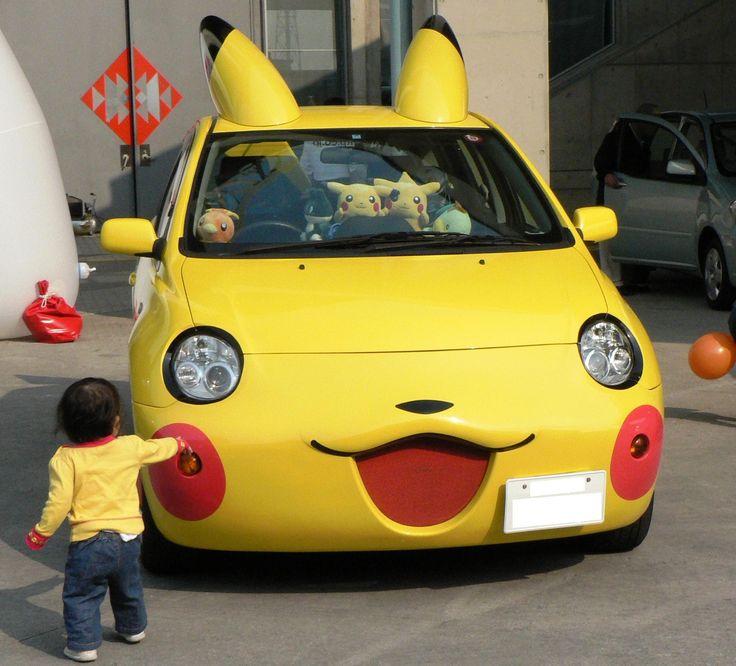 Pocket Monster Car!! https://www.facebook.com/TheNewDollTimes