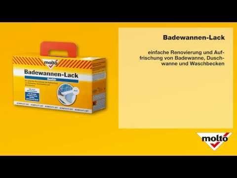 Anleitung - Badewannenlack - Molto — Yandex.Video