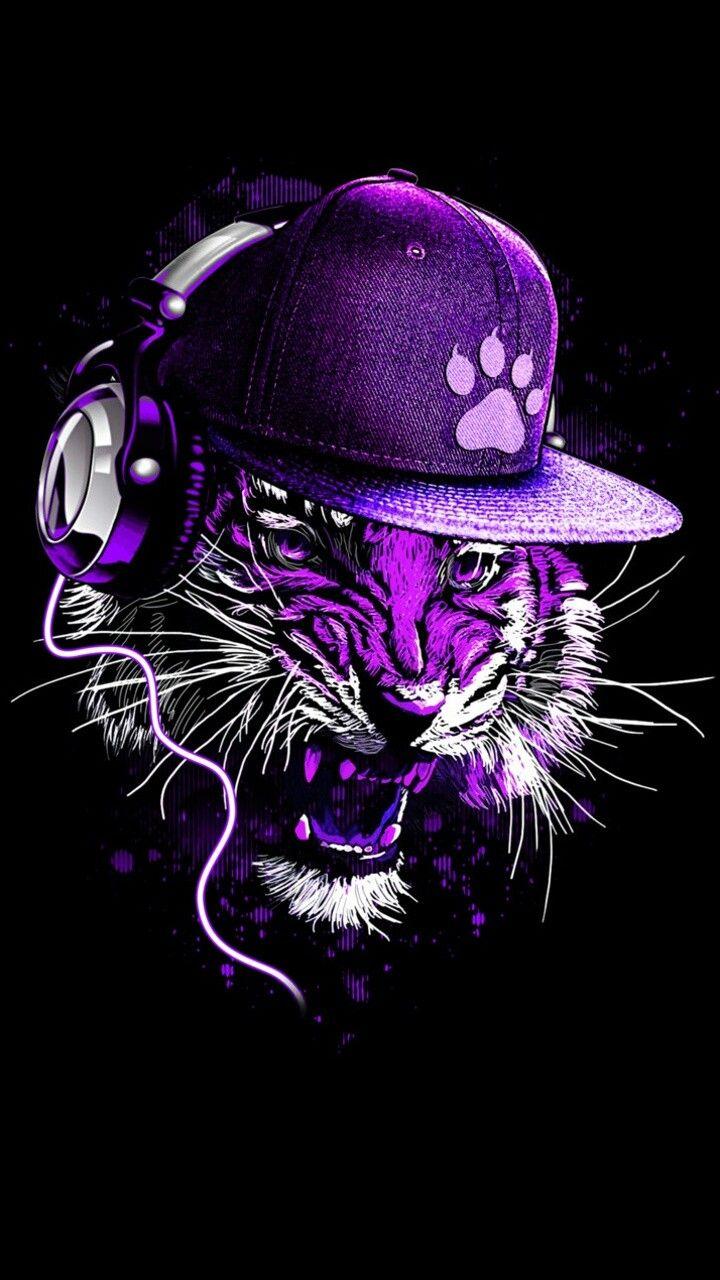 Purple Tiger Stargazer Nail Art Designs By Top Nails: 34 Best Fondos De Pantalla Images On Pinterest