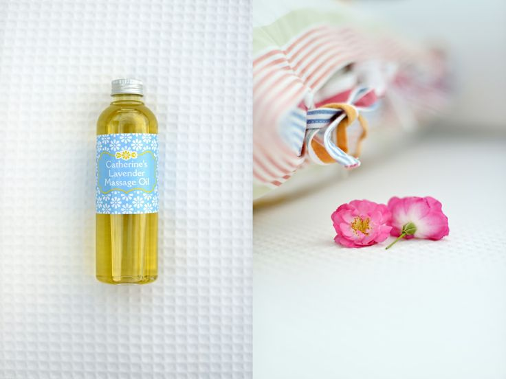 Catherine's Lavender Massage Oil from Catherine's Vineyard Cottages in Csákberény, Hungary.