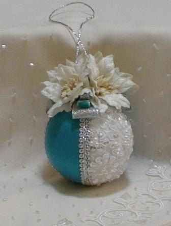 Shabby Chic Christmas Balls 23 by ShabbyChicXmas on Etsy