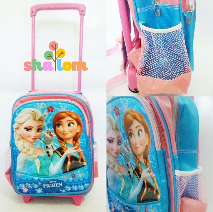 #frozenbag #frozenschoolbag #schoolbag #trollybag #frozenbags #frozen #elsaanna  trollytk 11x25x31cm