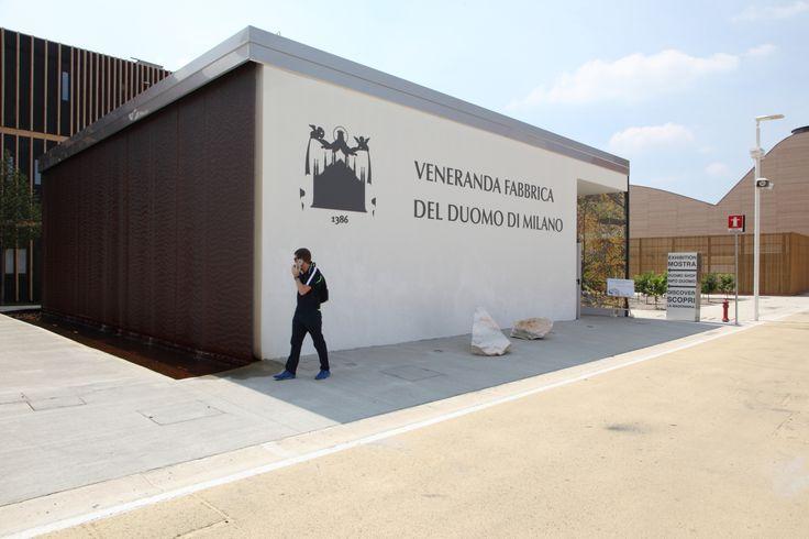 Veneranda del duomo - Milano Expo #outdoor #piastrelle #tiles #caesar #gate